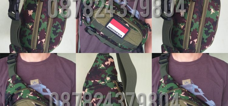 konveksi waist bag tactical